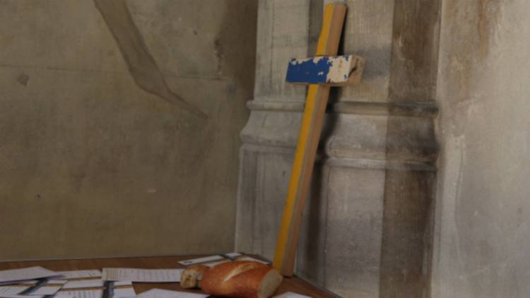 Lampedusa crosses – showing solidarity with refugees