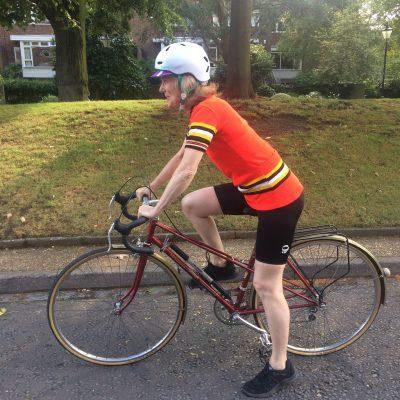 Eva takes on RideLondon for JRS UK!