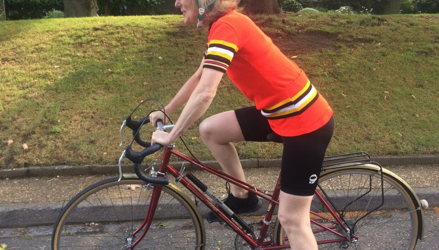 Eva takes on RideLondon for JRS UK!