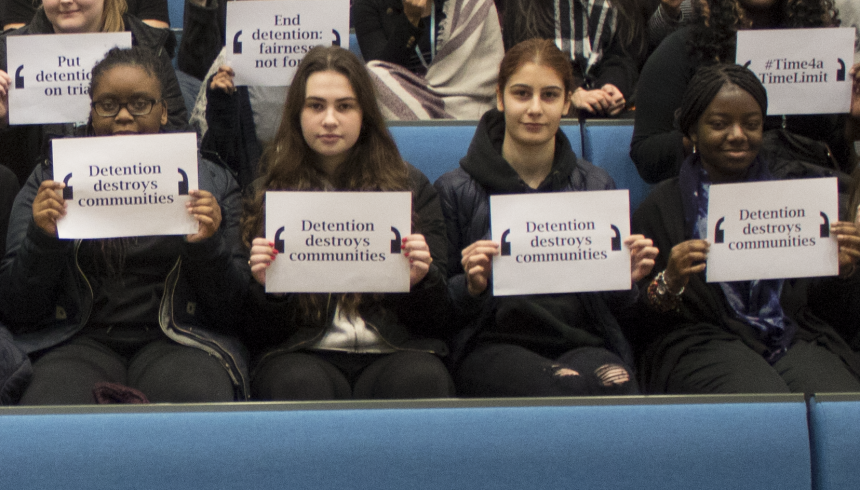 End Immigration Detention: JRS UK talks to sixth formers