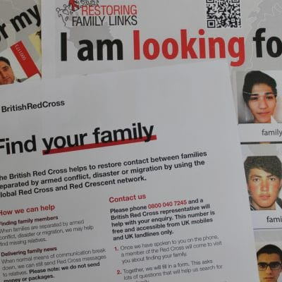 Family Tracing in Detention