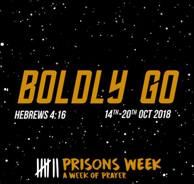 Boldly Go – Prisons Week 2018