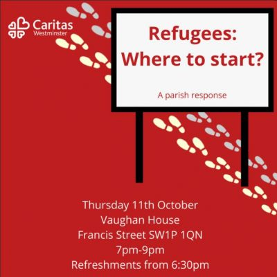 'A Parish Response to Refugees: Where to Start?'