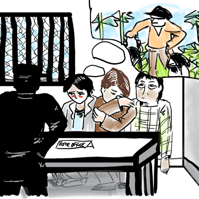 Hidden in plain sight: Working with trafficked people in detention