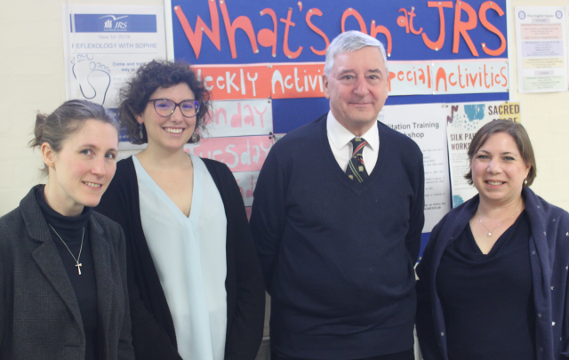 Jim Fitzpatrick MP visits JRS UK