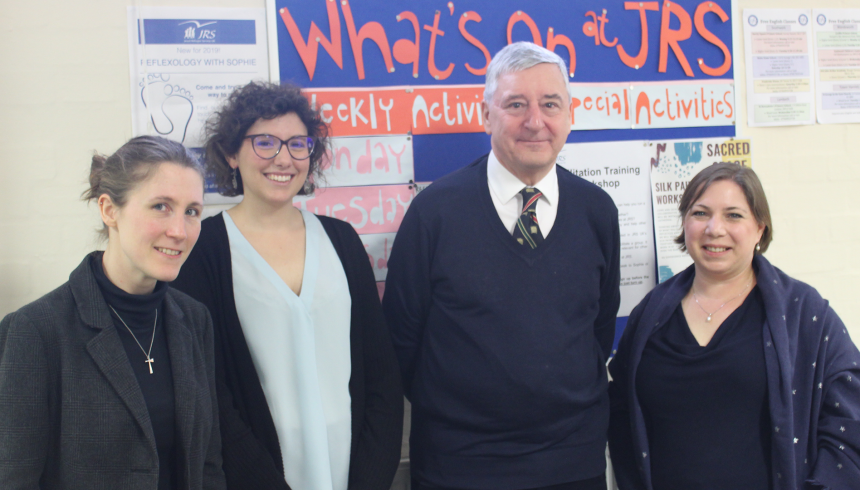 Jim Fitzpatrick MP visits JRS UK