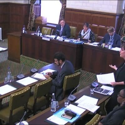 Parliamentarians debate the urgent need to protect victims of trafficking from indefinite immigration detention