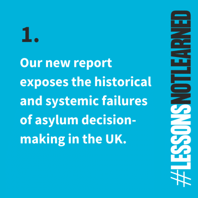 #LessonsNotLearned: 15 years of failure to improve asylum decision-making