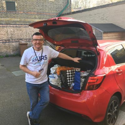 On the road with Aidan: delivering joy to refugees