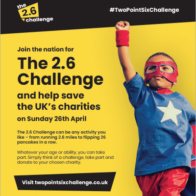 New challenge for London Marathon weekend