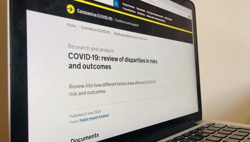 PHE review into disparities, risks and outcomes of COVID-19 offers more questions than answers