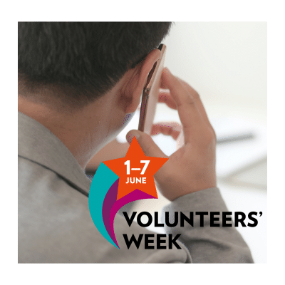 "Volunteers' Week 2020: ""I try to be a friend to them"""