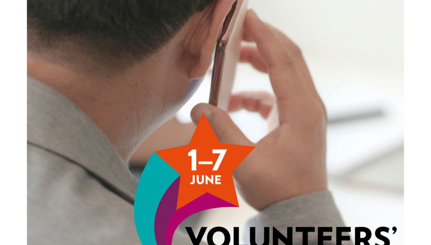 """Volunteers' Week 2020: """"I try to be a friend to them"""""""