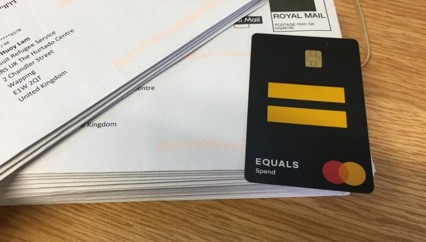 Over 300 pre-paid cards delivered to refugees in need