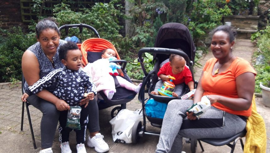 Refugee friends uplifted by parish picnic