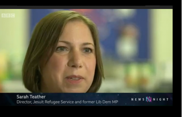 BBC Newsnight: Threat of homelessness for destitute asylum seekers