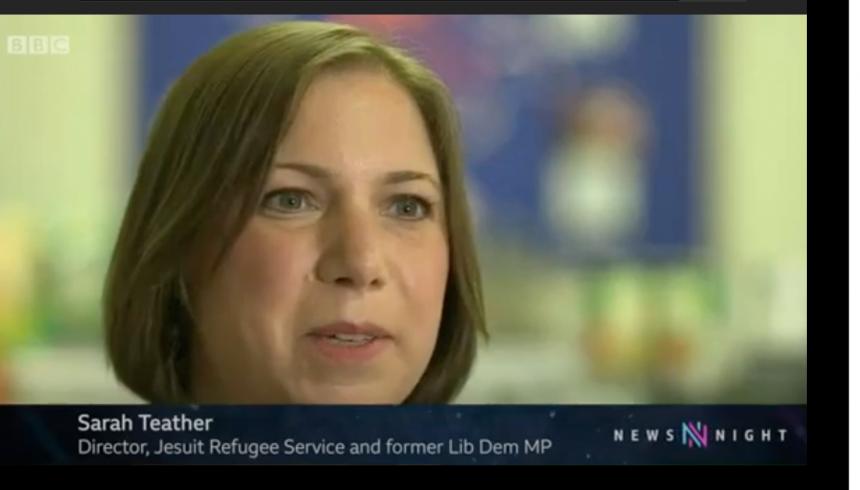BBC Newsnight: Threat of homelessness for destitute asylum seekers