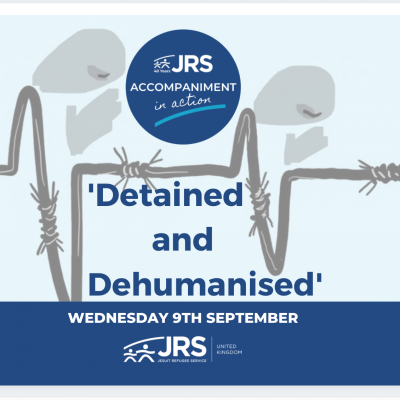 Accompaniment in Action event: Detained and Dehumanised