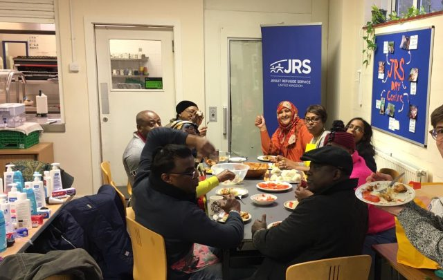 'We meet Jesus when we meet with our refugee friends'