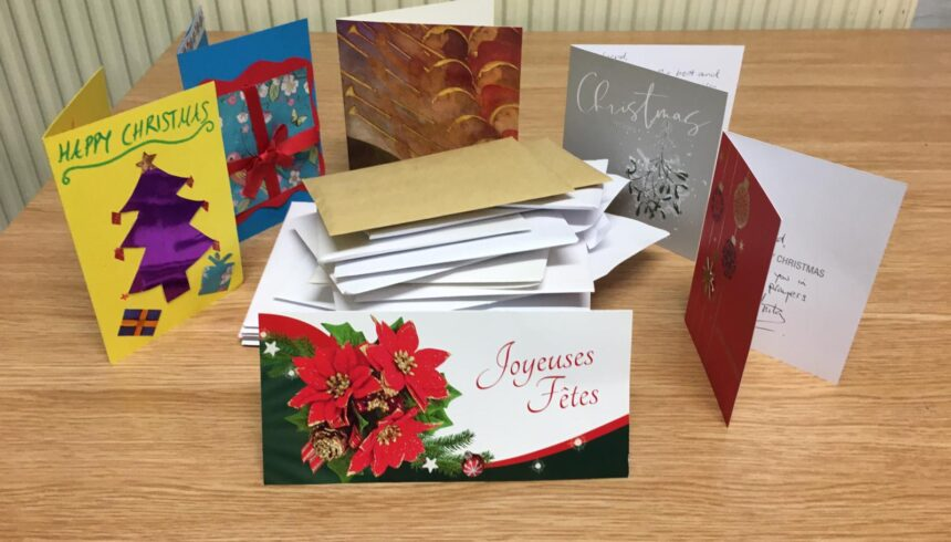 Christmas Card appeal: Thank you for your generosity!