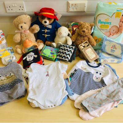 Baby Bundles that bring joy & wellbeing to refugee families