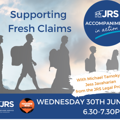 Accompaniment in Action: Supporting Fresh Claims