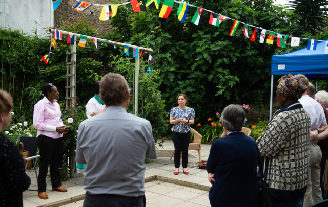 Emilie House for destitute refugee women becomes a home